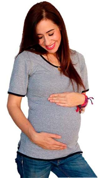 Blusa De Lactancia Y Embarazo Ropa Maternidad- Zoe