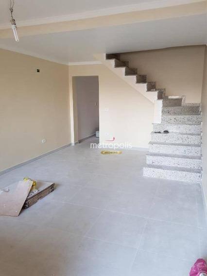 Sobrado Com 2 Dormitórios À Venda, 105 M² Por R$ 580.000 - Cerâmica - São Caetano Do Sul/sp - So0591