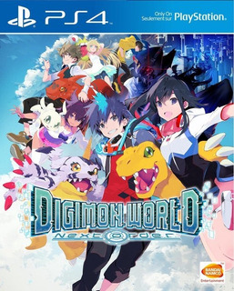 Digimon World: Next Order Ps4 Nuevo