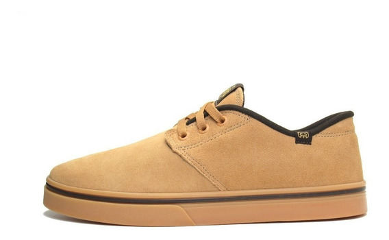 Tênis De Skate Hocks Del Mar Originals Marrom Camel/natural