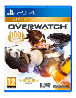 Overwatch Game Of The Year Edition (eu) / Juego Físico / Ps4