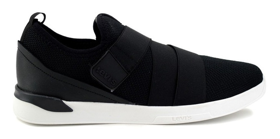 Zapato Casual Levis Para Hombre 228012 Negro [lev94]