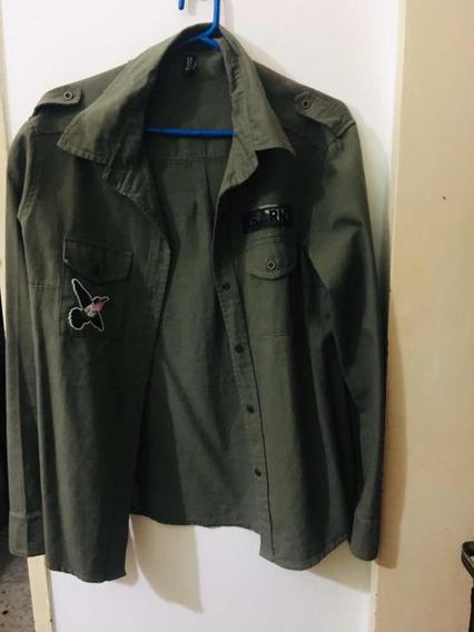 Camisa Militar Mujer.