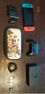 Nintendo Switch Flasheada En Perfecto Estado