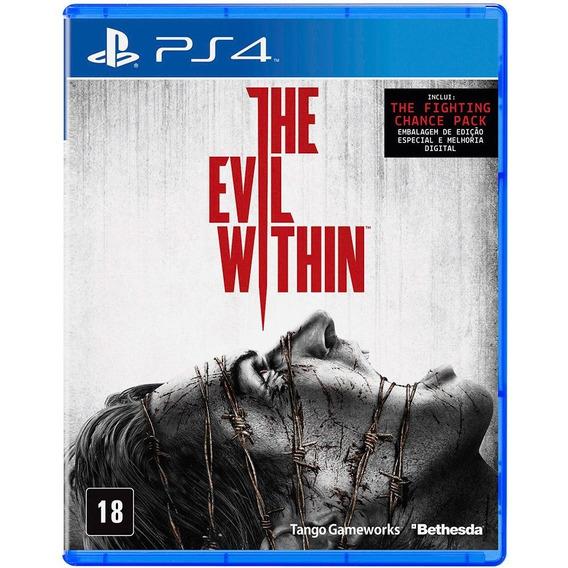 The Evil Within (mídia Física) - Ps4