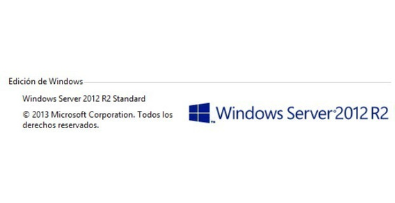 Windows Server 2012 R2 Standar