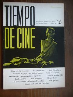 Tiempo De Cine Nº 16 / 1963 / Ver Foto Del Indice