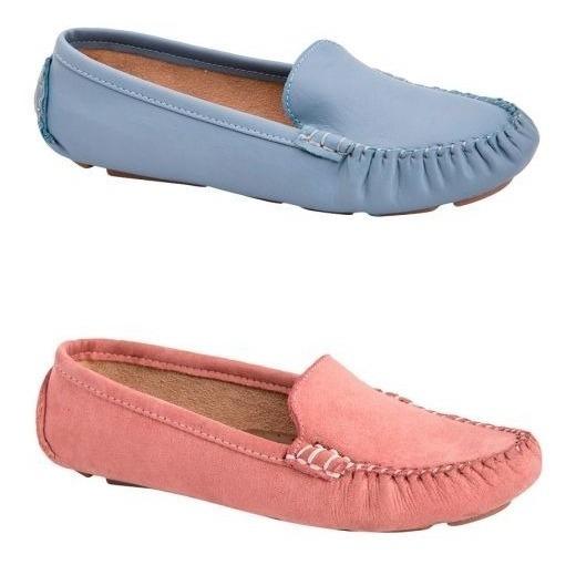 Kit De Zapato Flexible Ante Confort Shosh 4201 Cof 179093
