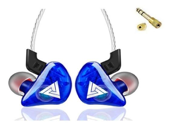 Fone Ouvido Qkz Ck5 In Ear Retorno Monitor De Palco Se215