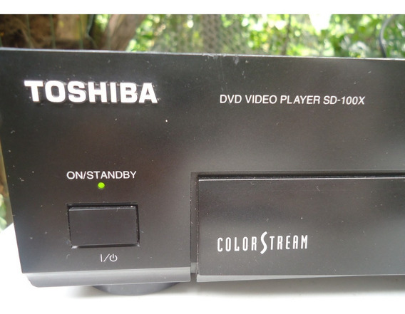 Aparelho De Dvd Toshiba Sd 100x Não Lê Dvd