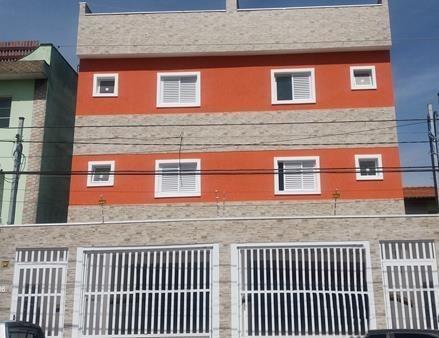 Cobertura Sem Condomínio Com 2 Dormitórios À Venda, 50 M² Por R$ 295.000 - Jardim Santo Alberto - Santo André/sp - Co0110