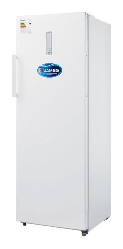 Freezer Vertical James Frio Seco Fvj-320 Nfm 5 Canastos 250l