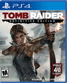 Tomb Raider Edicion Definitiva Ps4 Fisico/ Mipowerdestiny