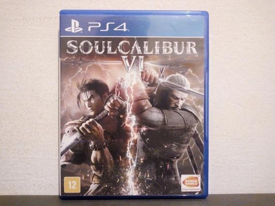 Ps4 Soul Calibur 6 - Original & Completo - Aceito Trocas...