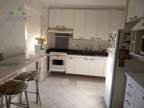 Apartamento Todo Planejado Com 3 Dormitórios E 2 Vagas À Venda Por R$ 750.000 - Centro - Suzano/sp - Ap0370