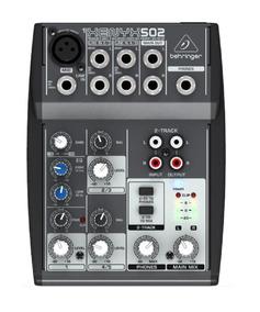 Mesa De Som Mixer Xenyx 5 Canais 502 - Behringer