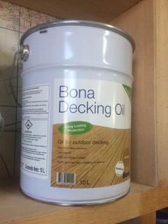 Bona/bona Decking Oil Para Deck De Cumaru 10 Lts