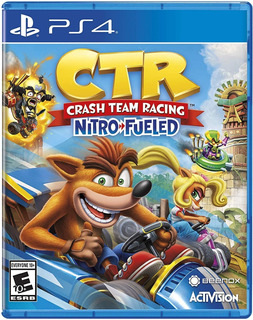 Crash Team Racing Nitro Fueled Ps4 (crash Car Ps4) + Póster