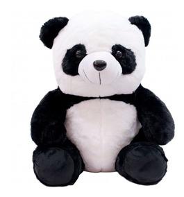 Urso Panda Sentado 20cm - Pelúcia