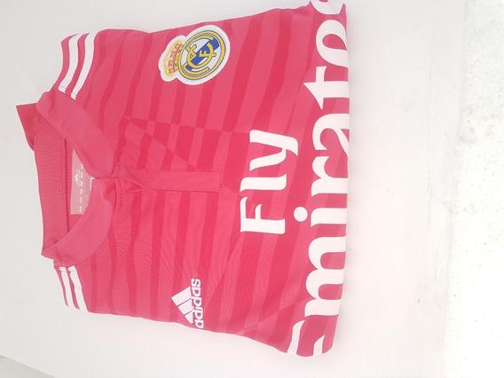 Conjunto Uniforme Rosa Fucsia Real Madrid Caballero