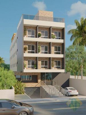Lançamento! - Flat Com 1 Dormitório À Venda, 24 M² Por R$ 350.000 - Bessa - João Pessoa/pb - Cod Fl0004 - Fl0004