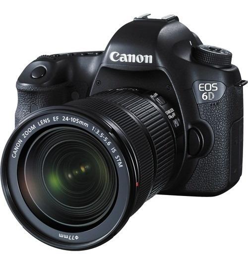 Câmera Canon 6d + 24-105mm F/3.5-5.6 Is Stm - Loja Platinum
