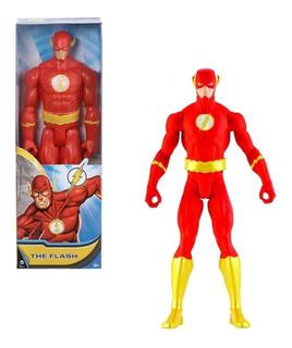 Figura De Acción Flash 30 Cm Articulada Dc Cómics Mattel
