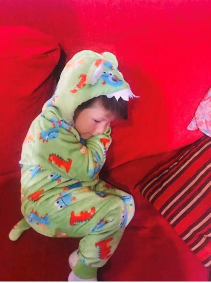 Pijama Dinosaurios Todo Pelo Del 4 Al 18