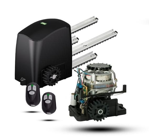 Motor Para Potão Correr Rcg Frete Grátis + Placa 2 Controles
