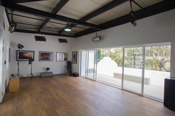 Renta Oficina Con Roof Garden Privado En Casa De Los Años 40´remodelada