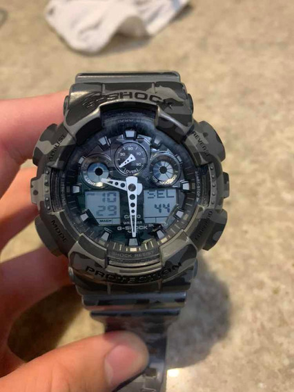 Relógio G-shock Casio Camuflado