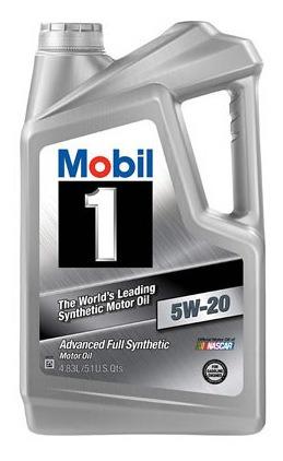 Aceite De Motor Mobil 4.73 Litros 5w20 Sintetico Mobil 1