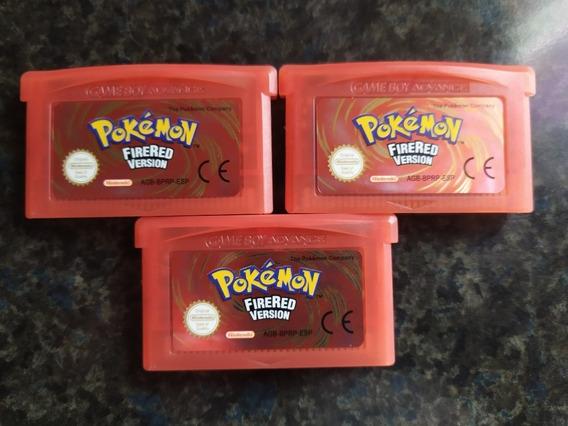 Pokémon Fire Red Nintendo Gameboy Advance