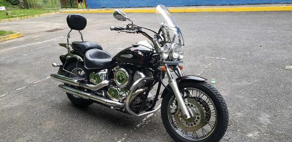 Yamaha Drag Star 1100 Negra Año 2001