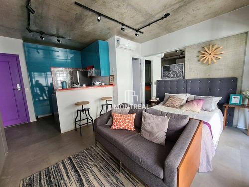 Imagem 1 de 27 de Apartamento À Venda, 33 M² Por R$ 433.643,00 - República - São Paulo/sp - Ap2813