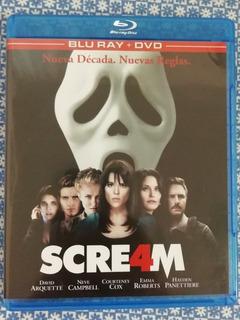 Scream 4 Bluray Y Dvd En Excelentes Condiciones