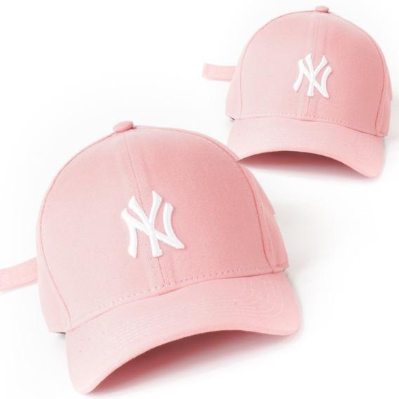 Boné Ny New York Yankees Fitão Trucker Dad Hat - Mais Barato