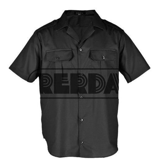 Camisa Manga Corta Policía Federal Premium T: 34 A 44