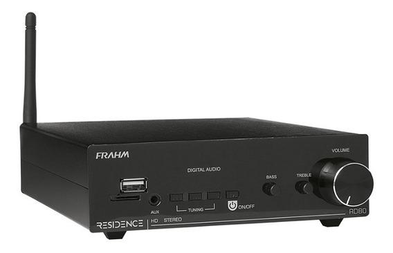 Amplificador Receiver Para Som Ambiente Frahm Rd80 Residence