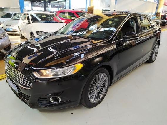 Ford Fusion Titanium 2.0 Turbo Preto 2016 (teto Solar)