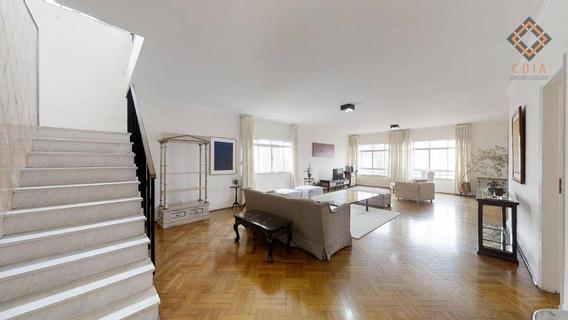Apartamento Com 5 Dormitórios À Venda, 473 M² Por R$ 2.500.000 - Paraíso - São Paulo/sp - Ap46685