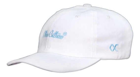 Boné Other Culture Dad Hat Aba Curva - Signature White