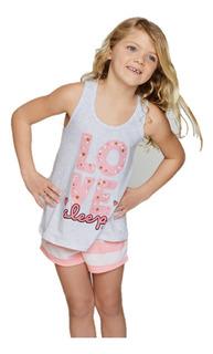 Pijama Verano Nena So Big Love 11549 So Pink Original