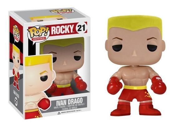 Boneco Funko Pop Movies Rocky Ivan Drago Filme Dvd Classico
