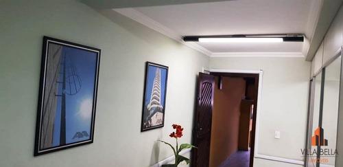 Sobrado Com 3 Dormitórios À Venda, 165 M² Por R$ 419.000,00 - Vila Luzita - Santo André/sp - So1115