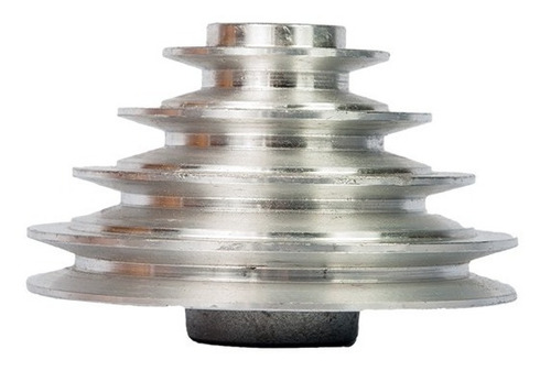 Imagem 1 de 4 de Polia De Alumínio Escalonada - 65x90x115x140 Mm - 4 Canais A