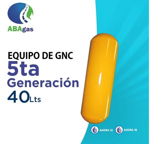 Equipo De Gnc Gas 5ta Generacion 40 Lts Ahora 12 Y Ahora 18