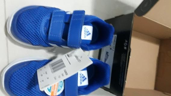 Tênis adidas Altarun Original E Novo!! Tam 24. Cor Azul