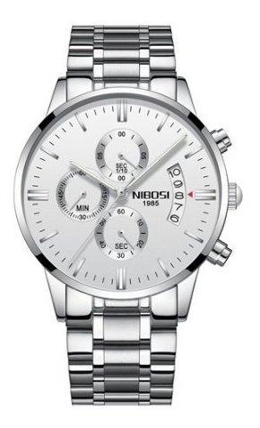 Relógio Masculino Nibosi 2309 Funcional Frete Gratis