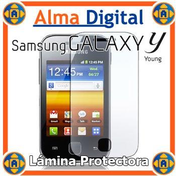 Lamina Protector Pantalla Transparente Samsung S5360 Young Y